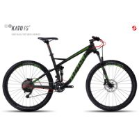 "Kolo MTB GHOST Kato FS 3 27,5"" night black/riot green/neon red"