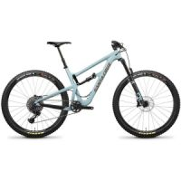 "Kolo MTB 29"" Santa Cruz Hightower LT C S skye blue/gold"