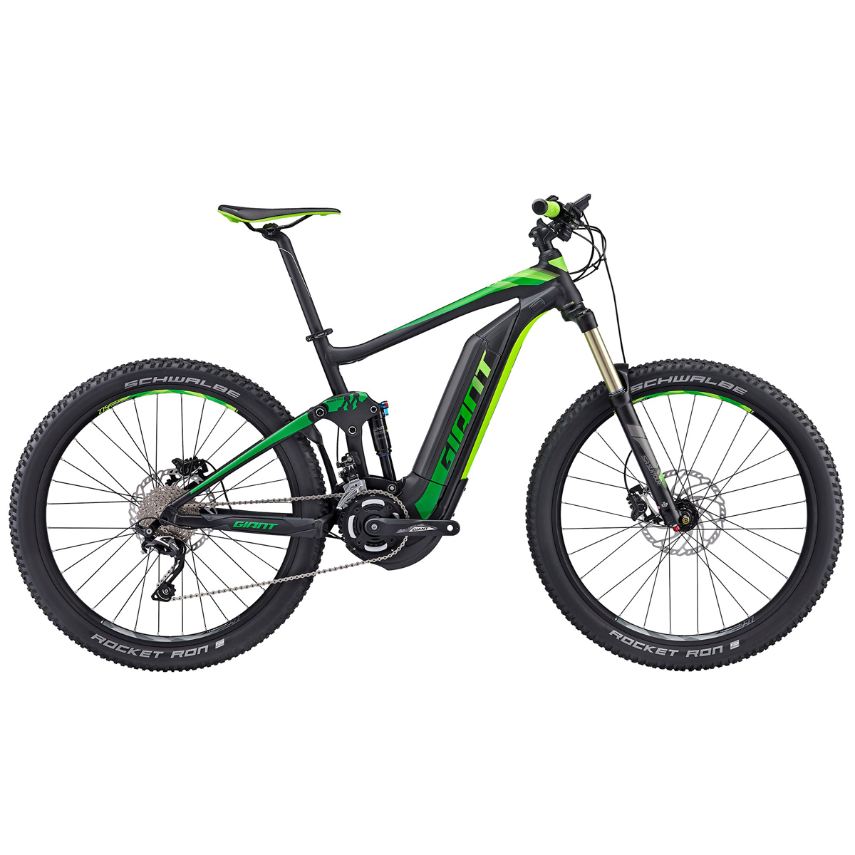 Elektrokolo Giant Full E+ 2 2017 black/green